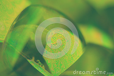 Bubble abstract close up