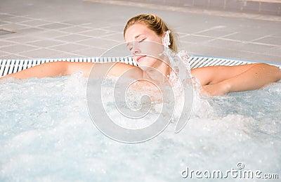 Bubble bath relaxation