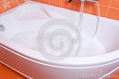 Bubble bath tub