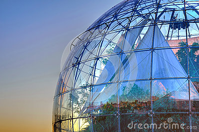 The bubble (biosphere) by Renzo Editorial Image