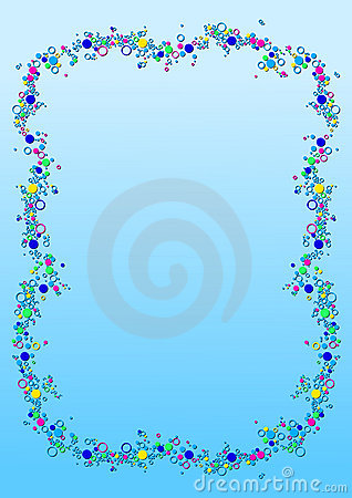 Bubble Border Stock Photos - Image: 17610003