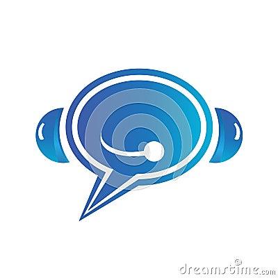 Bubble call logo