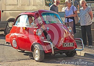 Bubble car Pickering Rally Editorial Stock Image