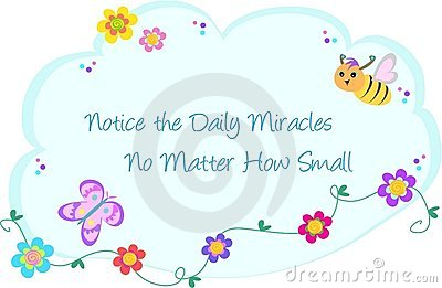Bubble of Daily Miracles, Bee, Butterfly, and Flow