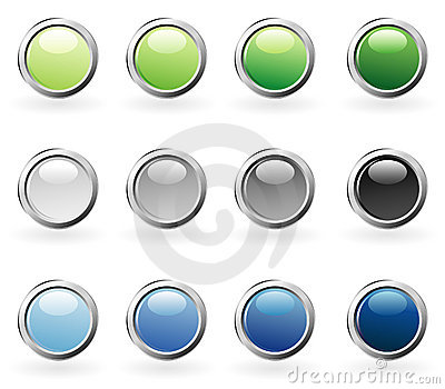 Bubble ring color buttons