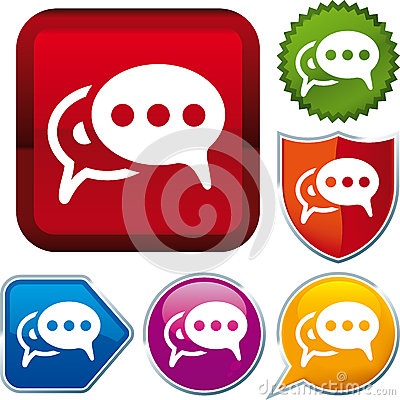 Bubble talk icon
