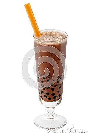 Bubble tea brown
