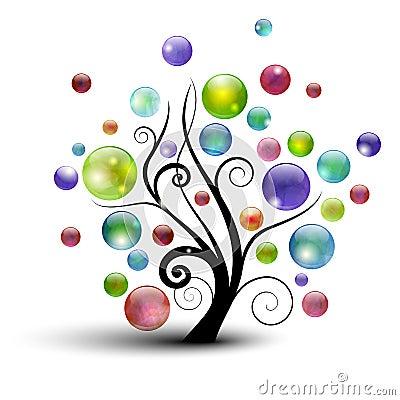 Free Bubble Tree Stock Photo - 20121080