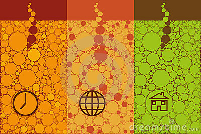 Bubbles abstract