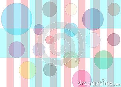 Bubbles Checkers & Stripes