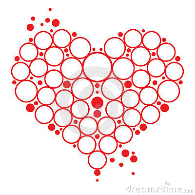 Bubbles Heart