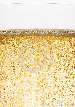 Free Bubbles Of Champagne Royalty Free Stock Photography - 14351257