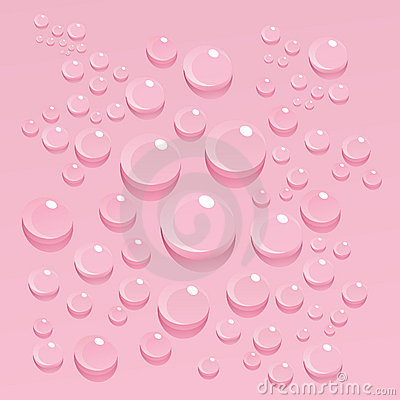 Free Bubbles On Pink Background Royalty Free Stock Images - 14933479