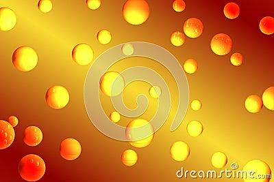 Bubbles orangen