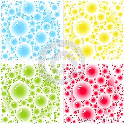 Bubbles patterns