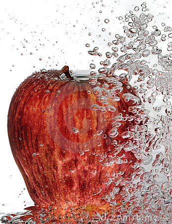 Bubbly Red Delicious Apple