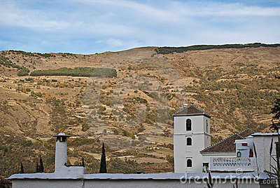 Bubión Church and fireplace in the Alpujarra