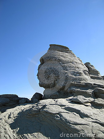 Bucegi sphinx