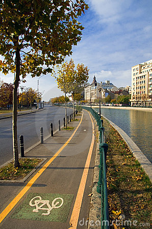 Bucharest - Bicycle lane