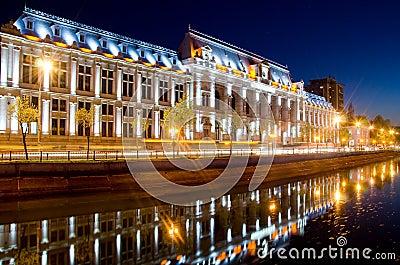 Bucharest center by night