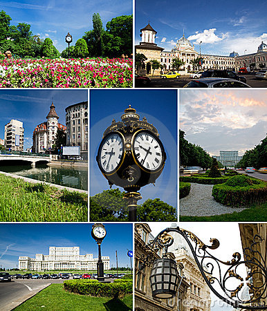 Bucharest collage