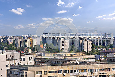Bucharest national arena.