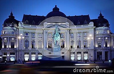 Bucharest at night
