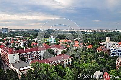 Bucharest panoramic view 3