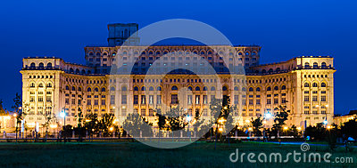 Bucharest, Parliament Palace