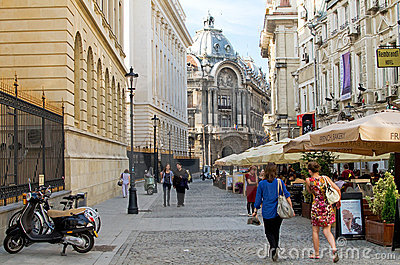 Bucharest, Romania Editorial Stock Image