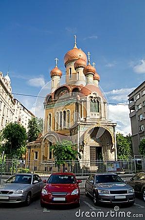 Bucharest - The Russian Church