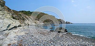 Bucht in der Vermilion Küste