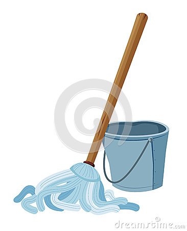 Free Bucket And Mop Stock Photos - 26185073