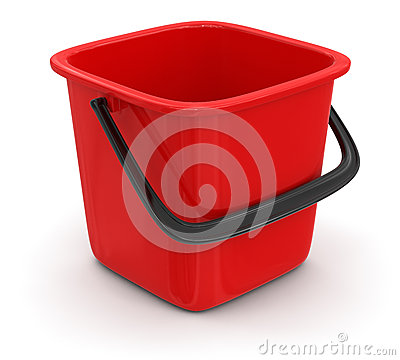 Bucket (clipping path included)