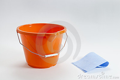 Bucket And Cloth