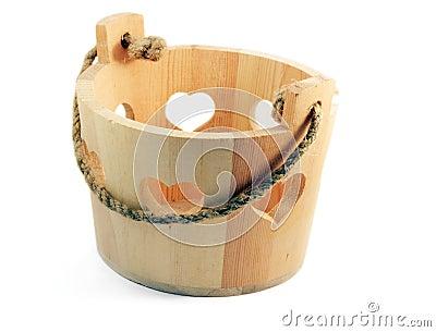 Bucket for the sauna set