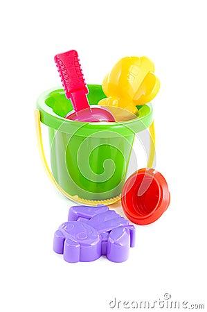 Free Bucket, Shovel And Rake Stock Photo - 18442700