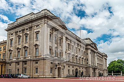 Buckingham Palace - East Front Editorial Photo