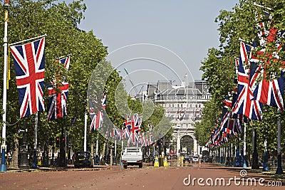Buckingham Palace, Entrance Editorial Stock Photo
