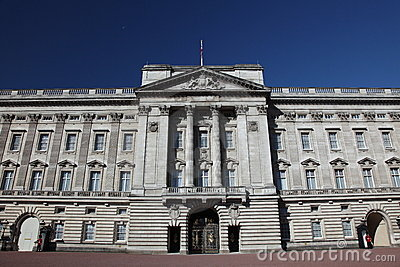 Buckingham Palace front view Editorial Image