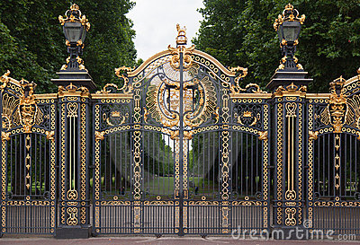 Buckingham Palace Gate London England