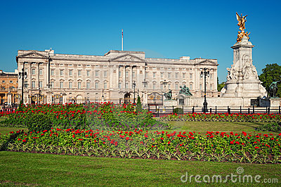Buckingham Palace, London Editorial Stock Image