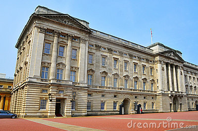 Buckingham Palace in London, United Kingdom Editorial Stock Photo