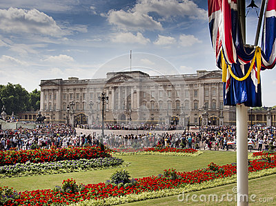 Buckingham Place Editorial Image