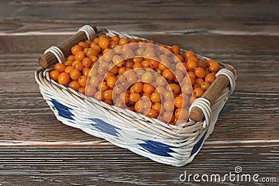 Buckthorn in the basket