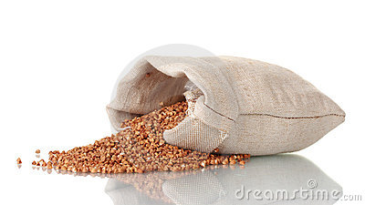 Buckwheat in a bag