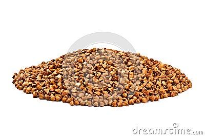Buckwheat handful