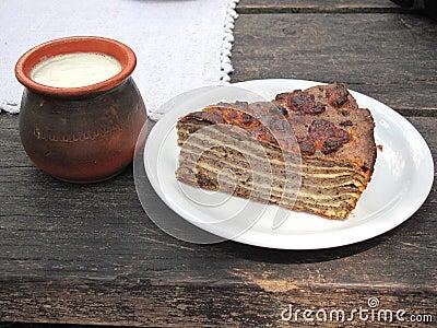 Buckwheat pie