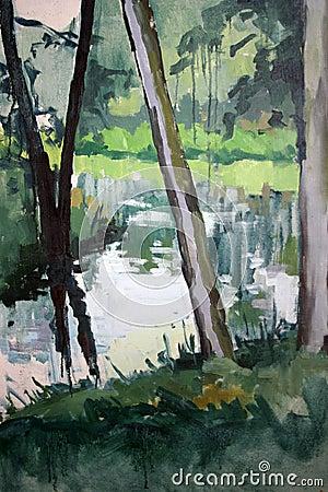 Bucolic brook