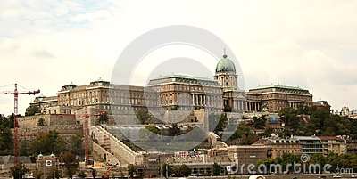 Buda Castle (Budapest, Hungary) Editorial Image